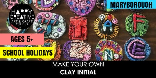 Clay Initial (Ages 5+)