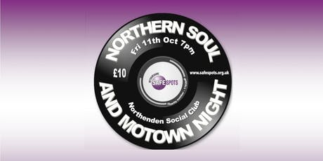 Safespots Northern Soul and Motown Night tickets