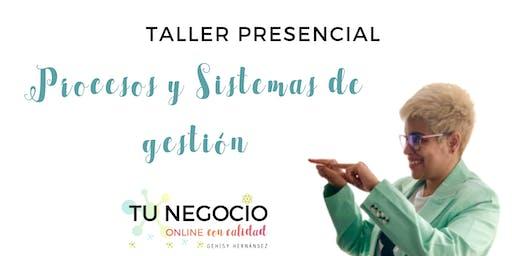 """Taller """"Procesos y sistemas de gestión para negocios online"""""""