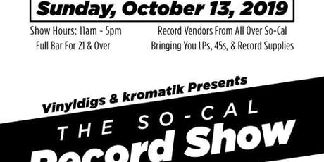 THE SO-CAL RECORD SHOW tickets