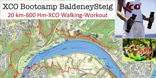XCO Bootcamp Baldeneysteig (20 km, 600 Hm, XCO Walking, Workout)