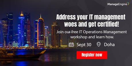 IT Operations Management workshop - Doha tickets
