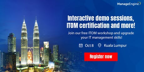 IT Operations Management workshop - Malaysia tickets