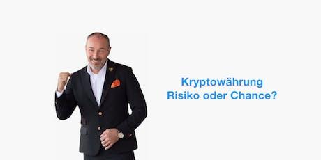 Kryptowährungen - Eine Investition in die Zukunft Tickets