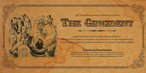 (8/50 Left) The Winter Gincident Gin Cocktail Cruise 7pm (The Liquorists)