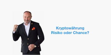 Kryptowährung - Eine investition in die Zukunft Tickets