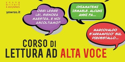 Corso di lettura ad alta voce 2019 - Moncalieri - incontro di presentazione