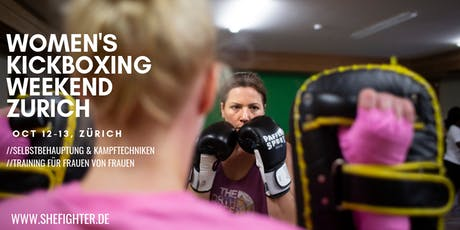 Women's Kickboxing Weekend Workshop Zurich tickets