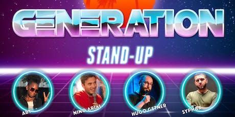 Génération Stand-Up tickets