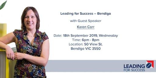 Leading for Success - Bendigo - September 2019