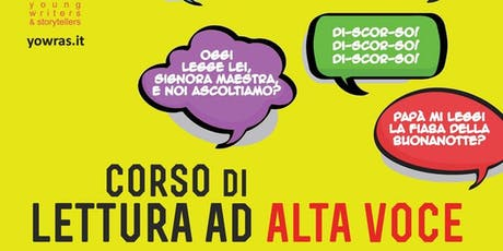 Corso di lettura ad alta voce  Pinerolo - Incontro 2 biglietti