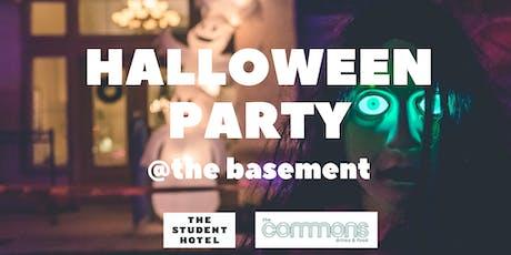 TSH Halloween Basement party! tickets