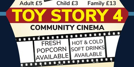 Toy Story 4 - Blaby Scouts Community Cinema! tickets