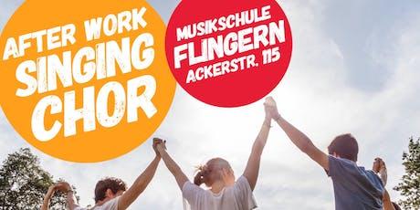 After Work Singing Chor Düsseldorf Tickets