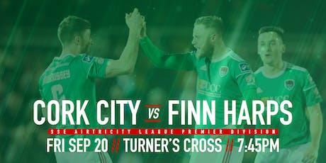 Cork City FC v Finn Harps FC tickets
