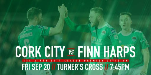 Cork City FC v Finn Harps FC