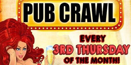 Thirsty Third Thursday Pub Crawl tickets