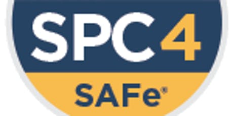 Implementing SAFe 4.6 w/ SPC Certification- Israel tickets