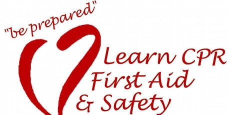 Basic Medical/Health Training (First Aid, CPR/AED & Other training) tickets