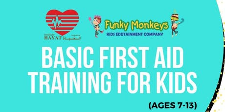 Basic First Aid Training for Kids tickets