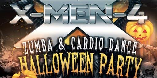 X-MEN lV Halloween Zumba & Dance Fitness Party