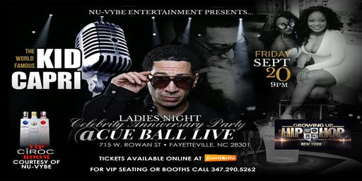 Kid Capri Ladies Night Celebrity Anniversary