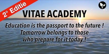 VITAE Academy - 2° Editie - GROEIEN, JE INKOMEN OPTIMALISEREN & DUPLICEREN tickets