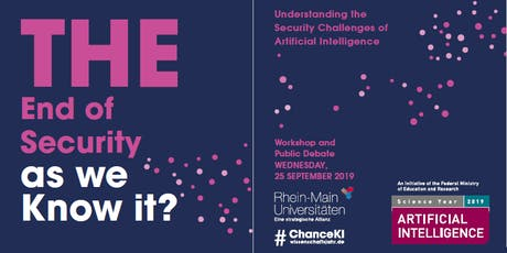 "Public Debate and Reception: ""Understanding the Security Challenges of AI"" tickets"