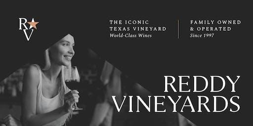 """Taste & Learn: Wine Education 101 Class """"Featuring Reddy Vineyards"""""""