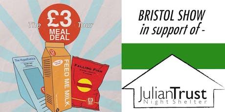 The Hypothetics + Falling Fish + Feed Me Milk @ Hamilton House, Bristol tickets