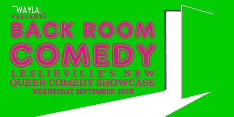 Back Room Comedy @ Wayla - Headliner MAGGIE CASSELLA tickets