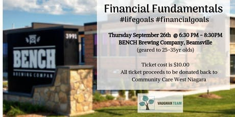 FINANCIAL FUNDAMENTALS	#lifegoals #financialgoals tickets