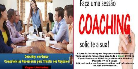 1° Sessão de Coaching Gratuita para Empreendedores  ingressos