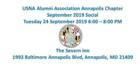 Annapolis Chapter September 2019 Social tickets