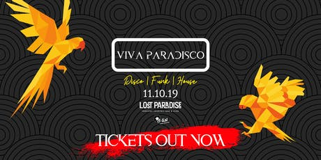 Viva Paradisco // Opening Party tickets