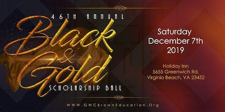 46th Annual Black and Gold Scholarship Ball tickets