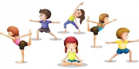 Yoga para Crianças ingressos
