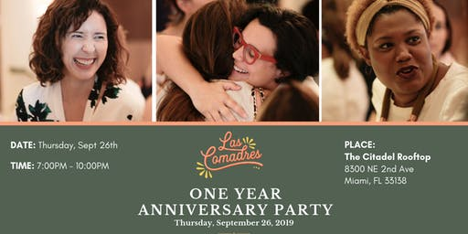 Las Comadres Anniversary Party