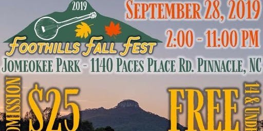 Foothills Fall Fest 2019
