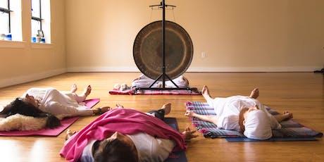Midweek Destress: Gong Sound Meditation tickets