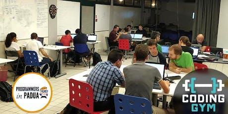 Coding Gym Castelfranco - Settembre 2019 | Programmers in Padua biglietti