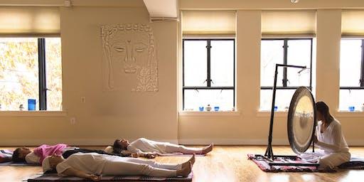 Midweek Destress: Gong Sound Meditation