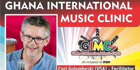 GHANA International Music Clinic tickets