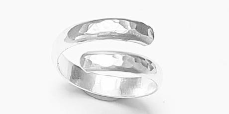 Make your own sterling silver ring tickets