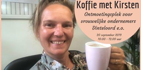 Koffie met Kirsten (voor vrouwelijke ondernemers omgeving Dinteloord) tickets