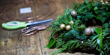 Sunday 8th December - Evergreen or Fabric 'Rag' Wreath Workshop tickets