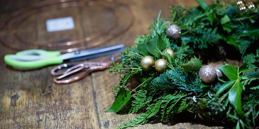 Sunday 8th December - Evergreen or Fabric 'Rag' Wreath Workshop