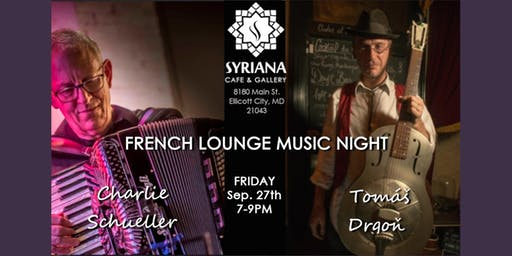French Lounge Music Night...Sept 2019