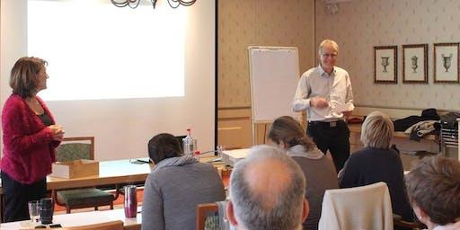 Berlin Business Training, mit Sabine, Adheesh und Matthias