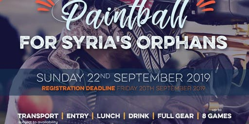 Paintball for charity